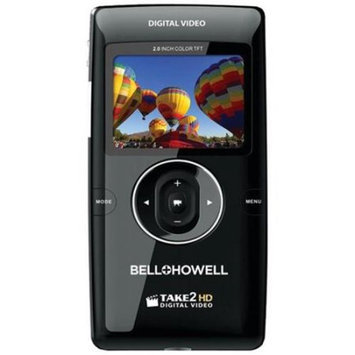 Bell & Howell T200GB-BK Bell+howell T200GB-bk Take2hd High-definition Flip Digital Video Camcorder [black]