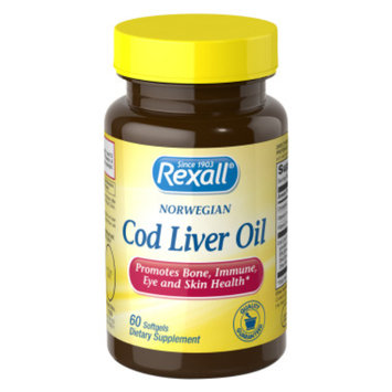 Rexall Cod Liver Oil - Softgels, 60 ct