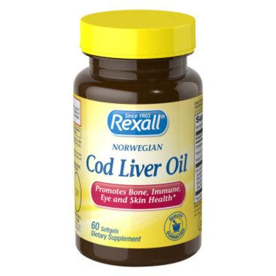 Rexall Cod Liver Oil - Softgels, 60 ct
