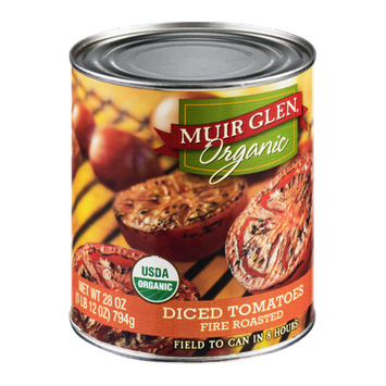 Muir Glen Organic Diced Tomatoes Fire Roasted
