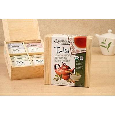 Davidson's Tea Davidson Organic Tea 631 Collection Chest Tulsi Tea