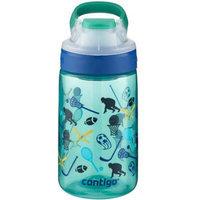 Contigo Gizmo Sip 14 Ounce Kids Water Bottle - Jungle Green All American