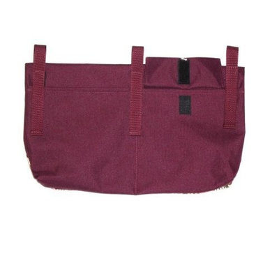 Handi-pockets Handi Pockets 2c5ar Storage Accessory Walker, Tapestry, Antique Rose with Flap