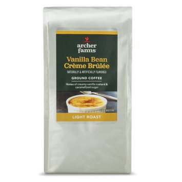 Archer Farms Vanilla Bean Creme Brulee Light Roast Ground Coffee 12 oz