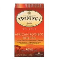 TWININGS® OF London AFRICA ROOIBOS RED TEA BAGS