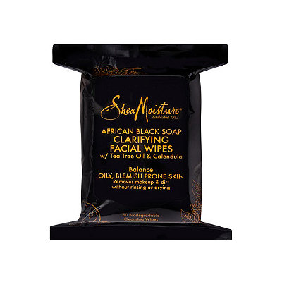 SheaMoisture African Black Soap Clarifying Facial Wipes