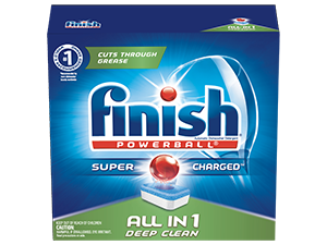 Finish® All in 1 Detergent – Fresh Scent
