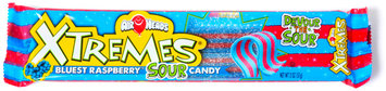 Airheads Xtremes Sweetly Sour Candy Bluest Raspberry