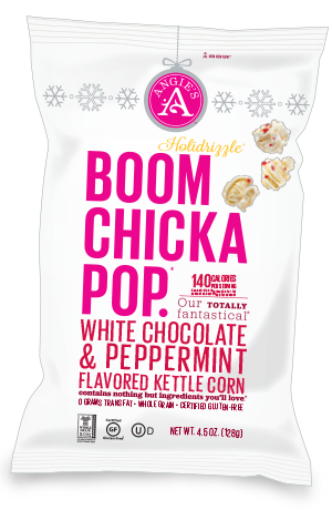 Angie's® Holidrizzle White Chocolatier Peppermint Kettle Corn
