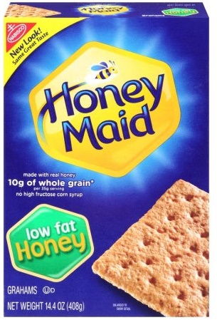 Nabisco Honey Maid Low Fat Honey Grahams