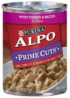 ALPO® PRIME CUTS® With Turkey & Bacon In Gravy