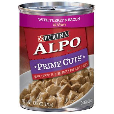 ALPO® PRIME CUTS® With Turkey & Bacon In Gravy