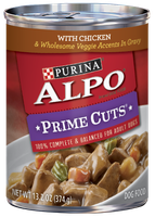 ALPO® PRIME CUTS® With Chicken & Wholesome Veggie Accents In Gravy