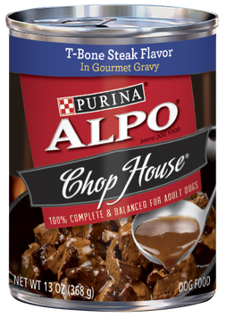 ALPO® CHOP HOUSE® T-Bone Steak In Gourmet Gravy