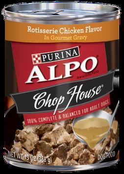 ALPO® CHOP HOUSE® Rotisserie Chicken Flavor In Gourmet Gravy