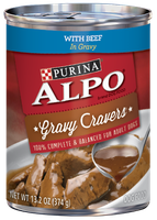 ALPO® GRAVY CRAVERS® With Beef In Gravy