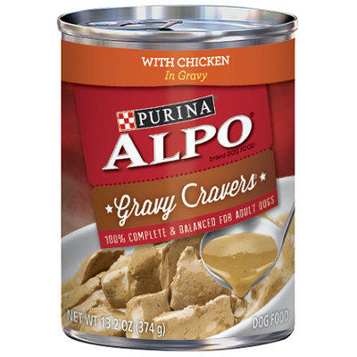 ALPO® GRAVY CRAVERS® With Chicken In Gravy