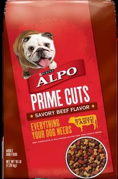 ALPO® PRIME CUTS® Savory Beef Flavor