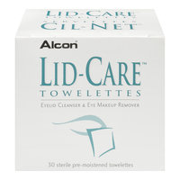 Alcon Lid-Care Eyelid Cleanser & Eye Makeup Remover Towelettes
