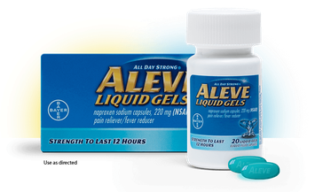 Aleve Liquid Gels