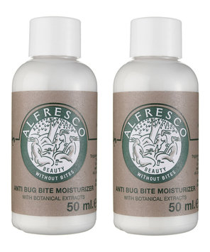 Natural Insect Repellent Moisturiser 2 x 50ml by Alfresco