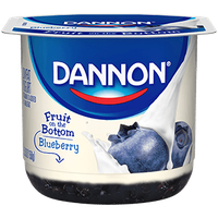 Dannon® Fruit On The Bottom Blueberry Yogurt