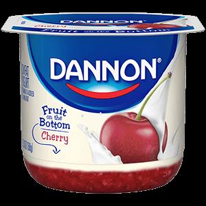 Dannon® Fruit On The Bottom Cherry Yogurt