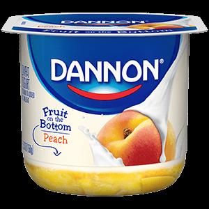 Dannon® Fruit On The Bottom Peach Yogurt