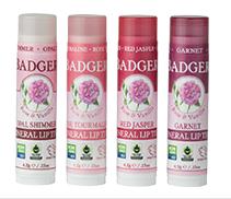 BADGER® Natural Mineral Lip Tints