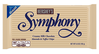 Hershey's Symphony Milk Chocolate with Almonds And Toffee Bar