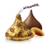 Hershey's Kisses With Almonds Chocolate