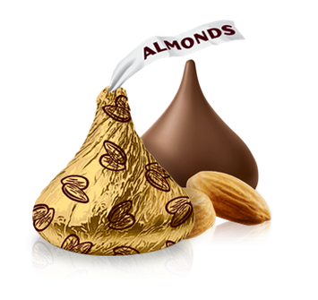 Hershey's Kisses With Almonds