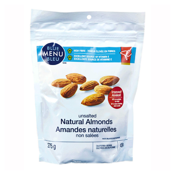 President's Choice Blue Menu Unsalted Natural Almonds