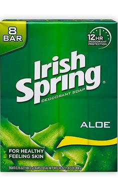 Irish SpringAloe Bar Deodorant Soap
