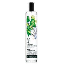 The Body Shop Aloe & Soft Linen Body, Room & Linen Spritz 100 ml