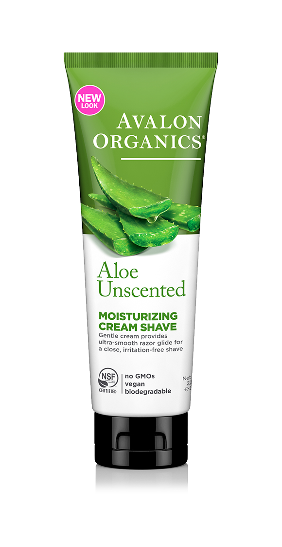 Avalon Organics Unscented Aloe Moisturizing Cream Shave