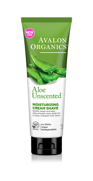 Avalon Organics Unscented Aloe Moisturizing Cream Shave