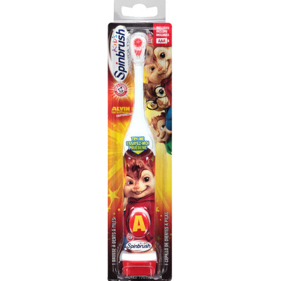 ARM & HAMMER™ Spinbrush Alvin And The Chipmunks Chipwrecked Kids Powered Toothbrush