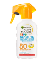 Garnier Ambre Solaire Kids Sensitive Sun Cream Trigger Spray Spf50+