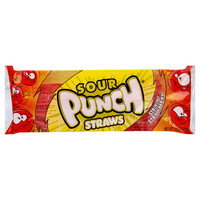 Sour Punch Candy Straws Strikin' Strawberry