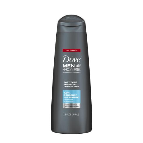 Dove Men+Care Anti-Dandruff Fortifying 2-In-1 Shampoo And Conditioner