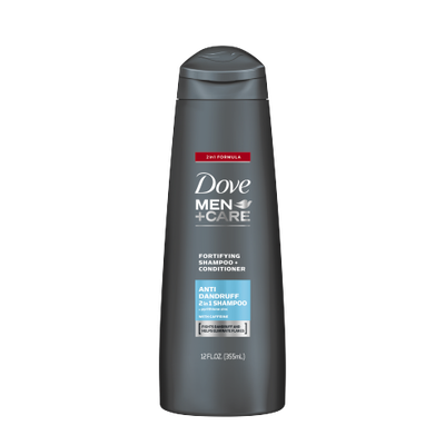 Dove Men+Care Anti-Dandruff Fortifying 2-In-1 Shampoo And Conditioner