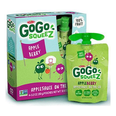 GoGo SqueeZ Apple Berry Applesauce On the Go