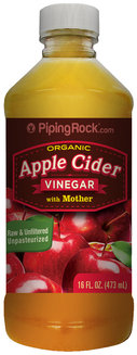 Piping Rock Apple Cider Vinegar w/Mother Organic 16 fl oz