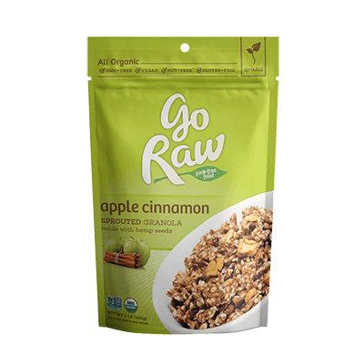 Go Raw Organic Apple Cinnamon Granola Premium with Hemp