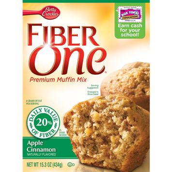 Fiber One Apple Cinnamon Muffin Mix