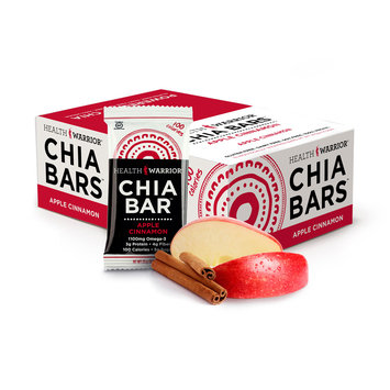 Health Warrior Chia Bars Apple Cinnamon, One Size