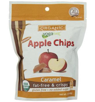 Yogavive - Apple Chips Organic Caramel - 1.41 oz.