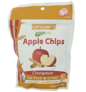Yogavive - Apple Chips Organic Cinnamon - 1.41 oz.