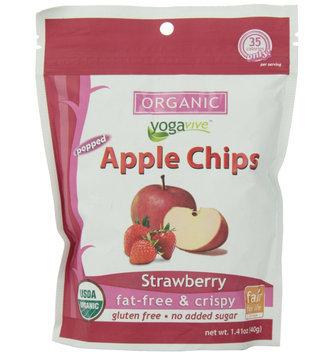 Yogavive - Apple Chips Organic Strawberry - 1.41 oz.